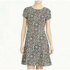 J. Crew Women's Short Sleeve Flutter Dress